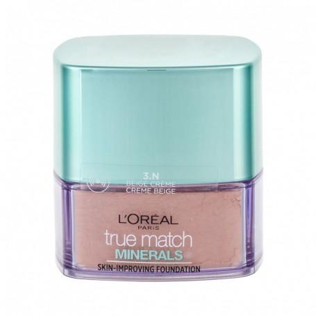 L´Oréal Paris True Match Minerals Skin-Improving Podkład 10g 3.N Creme Beige