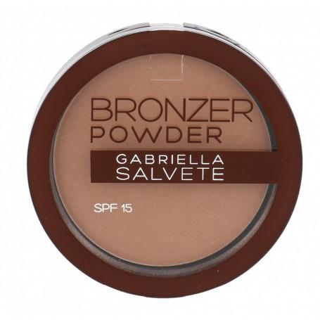 Gabriella Salvete Bronzer Powder SPF15 Puder 8g 01