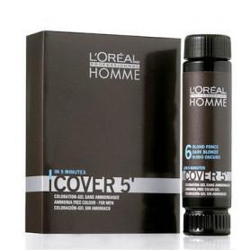 L´Oréal Professionnel Homme Cover 5´ Farba do włosów 3x50ml 7 Medium Blond