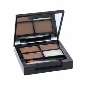 Makeup Revolution London Focus & Fix Eyebrow Shaping Kit Regulacja brwi 5,8g Medium Dark