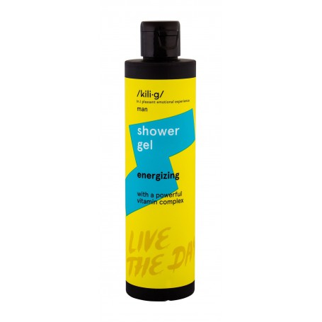 kili·g man Energizing Żel pod prysznic 250ml