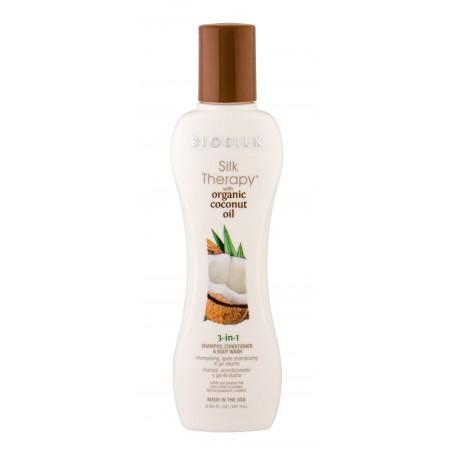 Farouk Systems Biosilk Silk Therapy Organic Coconut Oil Szampon do włosów 167ml