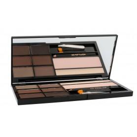 Makeup Revolution London Ultra Brow Palette Regulacja brwi 18,98g Medium To Dark