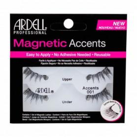 Ardell Magnetic Accents Accents 001 Sztuczne rzęsy 1szt Black