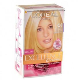 L´Oréal Paris Excellence Creme Farba do włosów 1szt 01 Lightest Natural Blonde