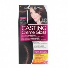 L´Oréal Paris Casting Creme Gloss Farba do włosów 1szt 323 Darkest Chocolate