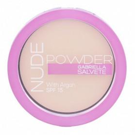 Gabriella Salvete Nude Powder SPF15 Puder 8g 01 Pure Nude