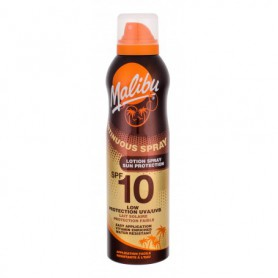 Malibu Continuous Spray SPF10 Preparat do opalania ciała 175ml