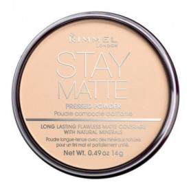 Rimmel London Stay Matte Puder 14g 005 Silky Beige