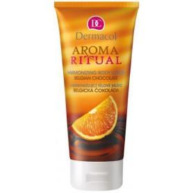 Dermacol Aroma Ritual Belgian Chocolate Mleczko do ciała 200ml