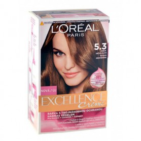 L´Oréal Paris Excellence Creme Farba do włosów 192ml 5,3 Natural Golden Brown