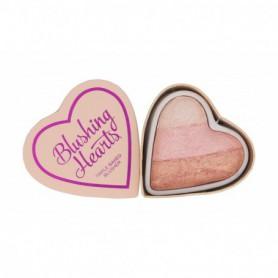 Makeup Revolution London I Heart Makeup Blushing Hearts Róż 10g Iced Hearts