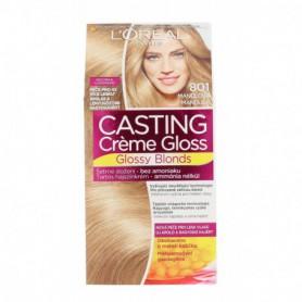 L´Oréal Paris Casting Creme Gloss Glossy Blonds Farba do włosów 1szt 801 Silky Blonde