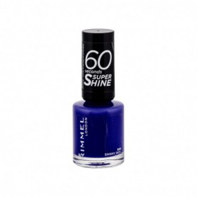 Rimmel London 60 Seconds Super Shine Lakier do paznokci 8ml 828 Danny Boy, Blue!