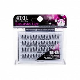 Ardell Double Up Duralash Knot-Free Double Flares Sztuczne rzęsy 56szt Long Black