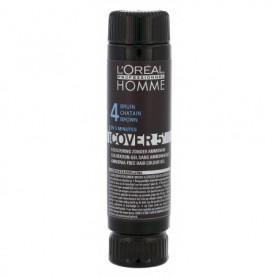 L´Oréal Professionnel Homme Cover 5´ Farba do włosów 3x50ml 4 Medium Brown