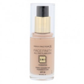 Max Factor Facefinity All Day Flawless 3in1 SPF20 Podkład 30ml 50 Natural