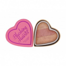 Makeup Revolution London I Heart Makeup Blushing Hearts Róż 10g Peachy Keen Heart