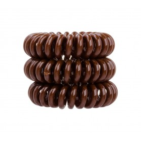 Invisibobble The Traceless Hair Ring Gumka do włosów 3szt Pretzel Brown