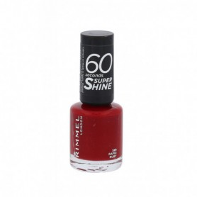 Rimmel London 60 Seconds Super Shine Lakier do paznokci 8ml 320 Rapid Ruby