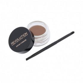 Makeup Revolution London Brow Pomade Regulacja brwi 2,5g Soft Brown