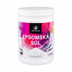 Allnature Epsom Salt Lavender Sól do kąpieli 1000g