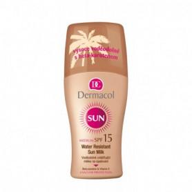 Dermacol Sun Milk Spray SPF15 Preparat do opalania ciała 200ml