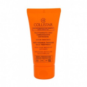 Collistar Special Perfect Tan Tanning Face Treatment SPF15 Preparat samoopalający do twarzy 50ml
