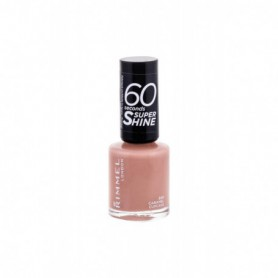 Rimmel London 60 Seconds Super Shine Lakier do paznokci 8ml 500 Caramel Cupcake