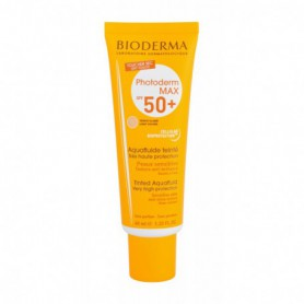 BIODERMA Photoderm Max Tinted Cream SPF50  Preparat samoopalający do twarzy 40ml Light