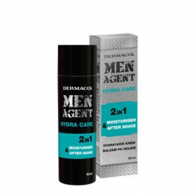 Dermacol Men Agent Hydra Care 2in1 Balsam po goleniu 50ml
