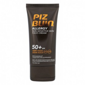 PIZ BUIN Allergy Sun Sensitive Skin Face Cream SPF50  Preparat samoopalający do twarzy 50ml