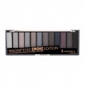 Rimmel London Magnif Eyes Contouring Palette Cienie do powiek 14,16g 003 Smoke Edition