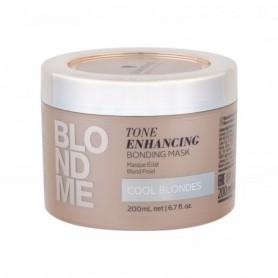 Schwarzkopf Blond Me Tone Enhancing Bonding Mask Maska do włosów 200ml Cool Blondes