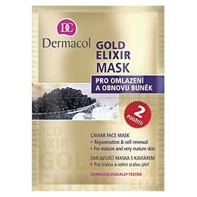 Dermacol Gold Elixir Maseczka do twarzy 16ml