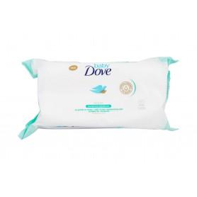 Dove Baby Sensitive Moisture Chusteczki oczyszczające 50szt