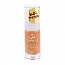 Dermacol Sheer Face Illuminator Baza pod makijaż 15ml sun bronze