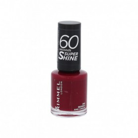 Rimmel London 60 Seconds Super Shine Lakier do paznokci 8ml 340 Berries And Cream