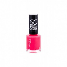 Rimmel London 60 Seconds Super Shine Lakier do paznokci 8ml 407 Hot Tropicana