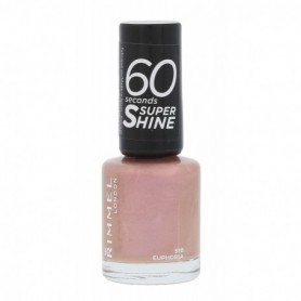 Rimmel London 60 Seconds Super Shine Lakier do paznokci 8ml 510 Euphoria