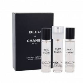 Chanel Bleu de Chanel 3x 20 ml Woda perfumowana 60ml