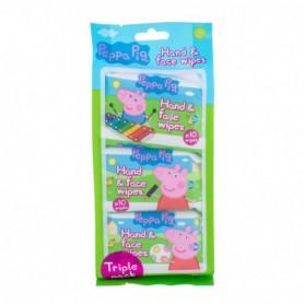 Peppa Pig Peppa Hand & Face Wipes Chusteczki oczyszczające 30szt