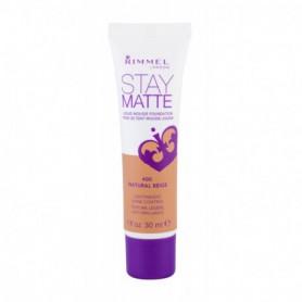 Rimmel London Stay Matte Liquid Mousse Foundation Podkład 30ml 400 Natural Beige