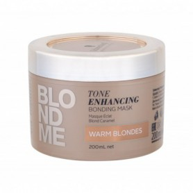 Schwarzkopf Blond Me Tone Enhancing Bonding Mask Maska do włosów 200ml Warm Blondes