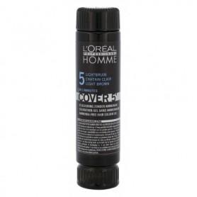 L´Oréal Professionnel Homme Cover 5´ Farba do włosów 3x50ml 5 Light Brown