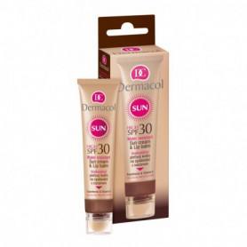 Dermacol Sun Cream & Lip Balm SPF30 Preparat samoopalający do twarzy 30ml