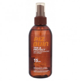 PIZ BUIN Tan & Protect Tan Accelerating Oil Spray SPF15 Preparat do opalania ciała 150ml