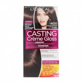 L´Oréal Paris Casting Creme Gloss Farba do włosów 1szt 400 Dark Brown