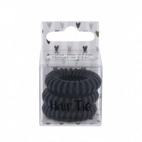2K Hair Tie Gumka do włosów 3szt Black