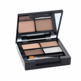 Makeup Revolution London Focus & Fix Eyebrow Shaping Kit Regulacja brwi 5,8g Light Medium
